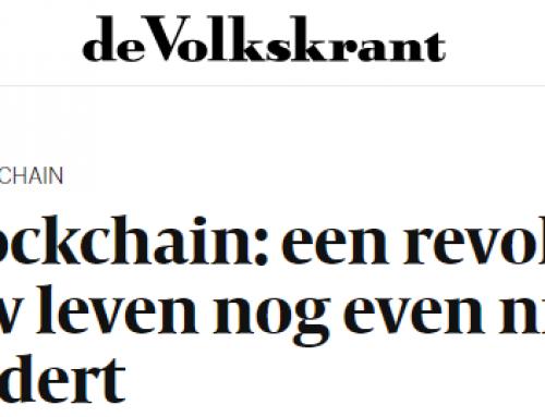 [Dutch] In antwoord op De Volkskrant on Blockchain